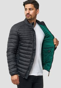 INDICODE JEANS - REGULAR FIT - Light jacket - black - 5
