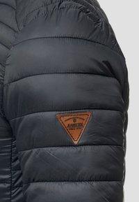 INDICODE JEANS - REGULAR FIT - Light jacket - black - 6