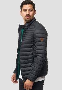 INDICODE JEANS - REGULAR FIT - Light jacket - black - 4