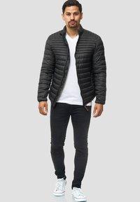 INDICODE JEANS - REGULAR FIT - Light jacket - black - 1