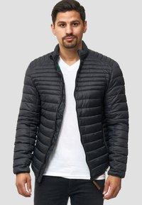 INDICODE JEANS - REGULAR FIT - Light jacket - black - 3