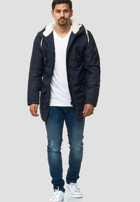 INDICODE JEANS - Cappotto invernale - navy - 1