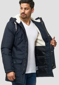 INDICODE JEANS - Cappotto invernale - navy - 3