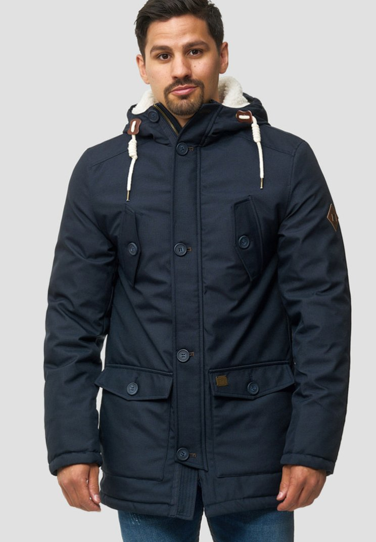 INDICODE JEANS - Cappotto invernale - navy