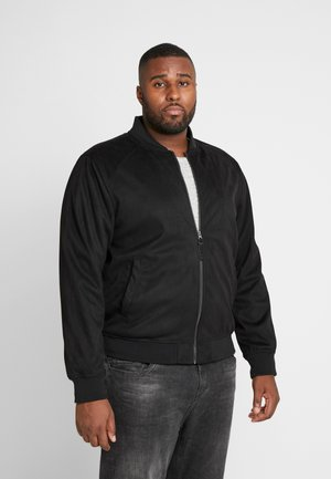 FORT WAYNE - Faux leather jacket - black