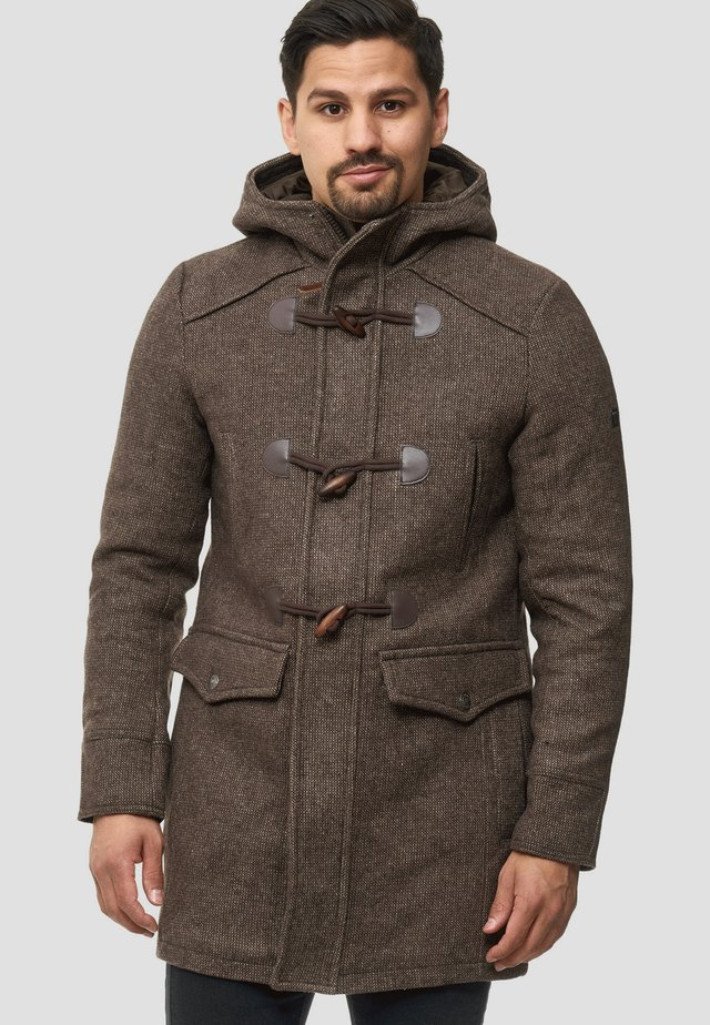 LIAM - Winter coat - mottled brown