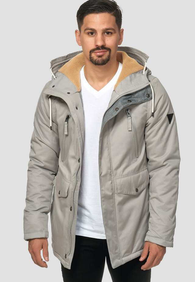 Parka - light grey