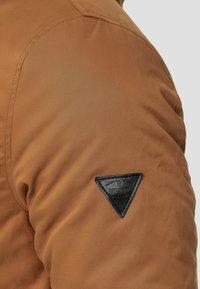 INDICODE JEANS - Parka - mottled brown - 5