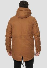 INDICODE JEANS - Parka - mottled brown - 2