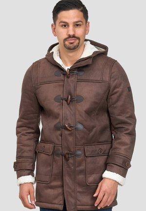 Veste d'hiver - mottled brown