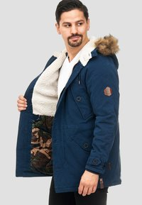 INDICODE JEANS - Cappotto invernale - navy - 4