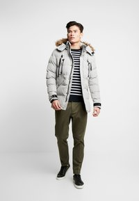 INDICODE JEANS - MCCULLUM - Winter coat - dark grey - 1