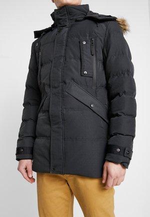 MCCULLUM - Zimní kabát - black
