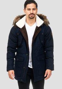 INDICODE JEANS - BAYNES - Winter coat - navy - 0