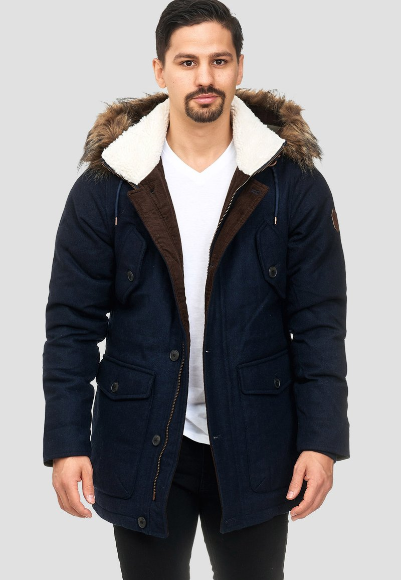 INDICODE JEANS - BAYNES - Winter coat - navy