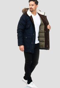 INDICODE JEANS - BAYNES - Winter coat - navy - 1
