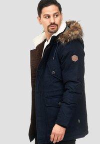 INDICODE JEANS - BAYNES - Winter coat - navy - 3