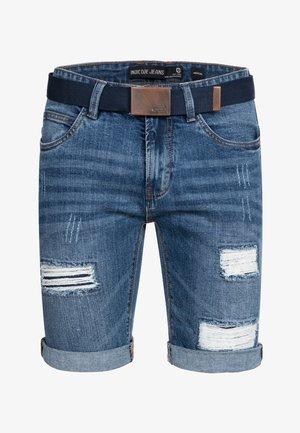 CUBA CADEN - Denim shorts - blau