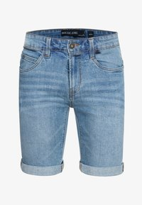 INDICODE JEANS - CUBA CADEN - Denim shorts - blue - 4