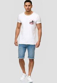 INDICODE JEANS - CUBA CADEN - Denim shorts - blue - 1