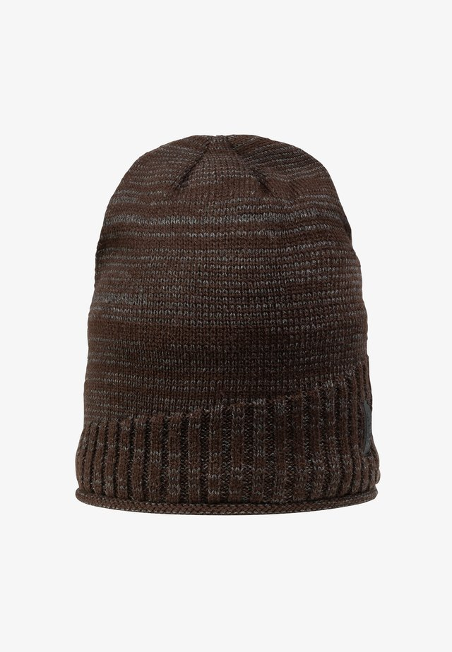 Beanie - dark brown