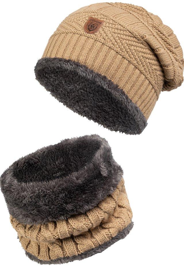 SET - Sjal / Tørklæder - beige