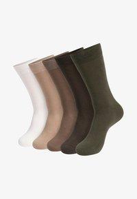 INDICODE JEANS - 10 PACK - Sokken - beige - 1
