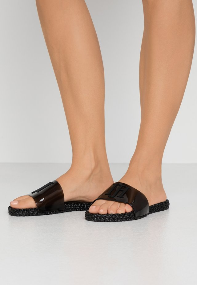 CHEERFUL - Badslippers - black