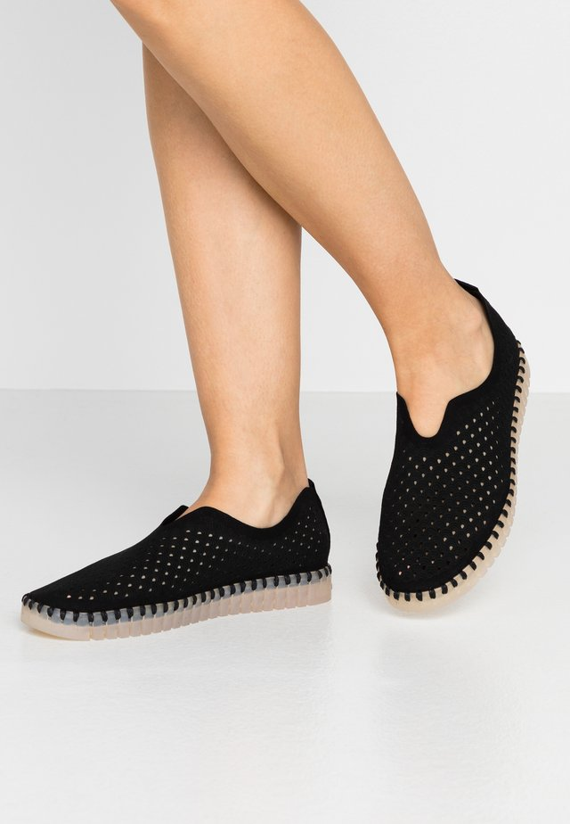 TULIP LUX - Slippers - black