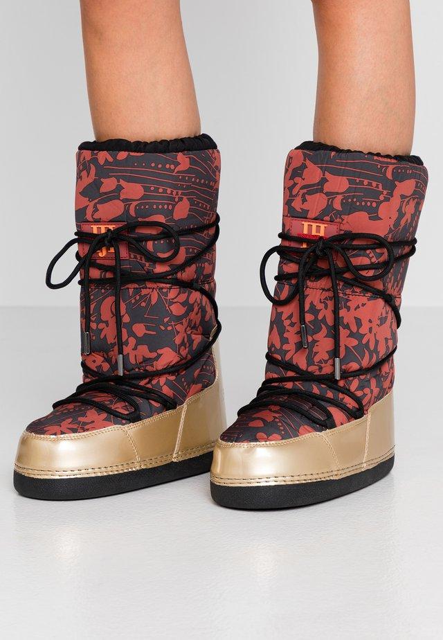 MOON 9075 - Winter boots - burnt henna