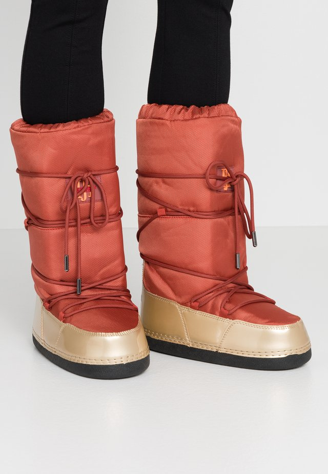 MOON 9070 - Snowboot/Winterstiefel - burnt henna