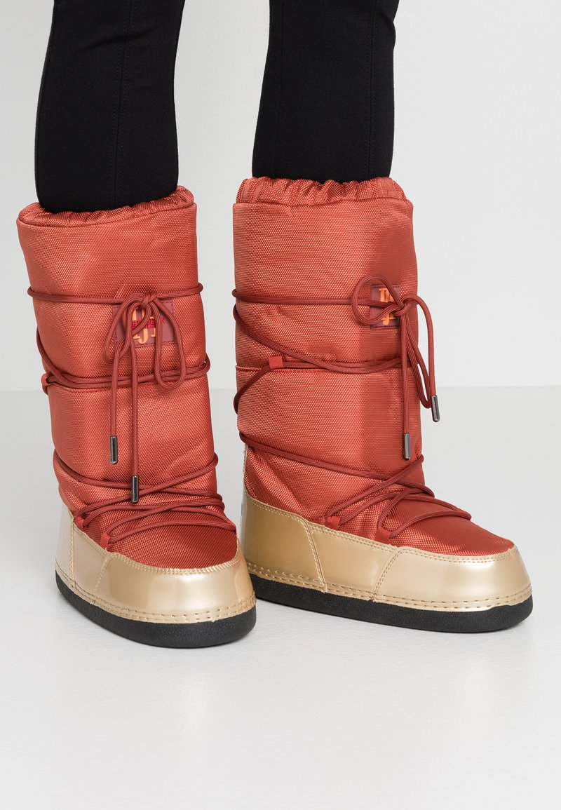 Ilse Jacobsen - MOON 9070 - Winter boots - burnt henna