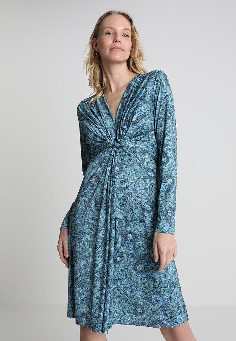 Ilse Jacobsen - DRESS - Jerseykleid - country blue