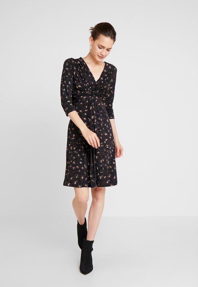 CREZIA - Jersey dress - black