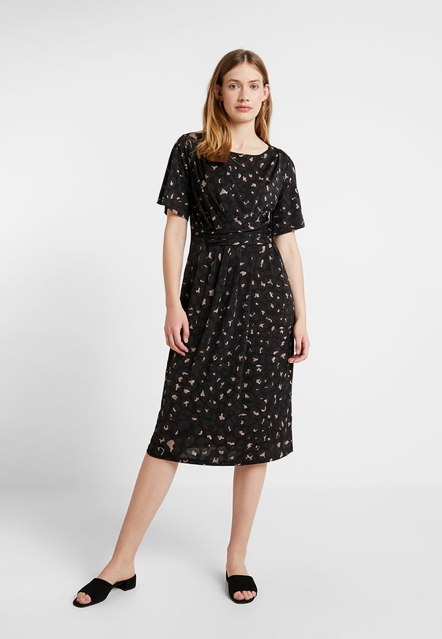 CREZIA - Jersey dress - black