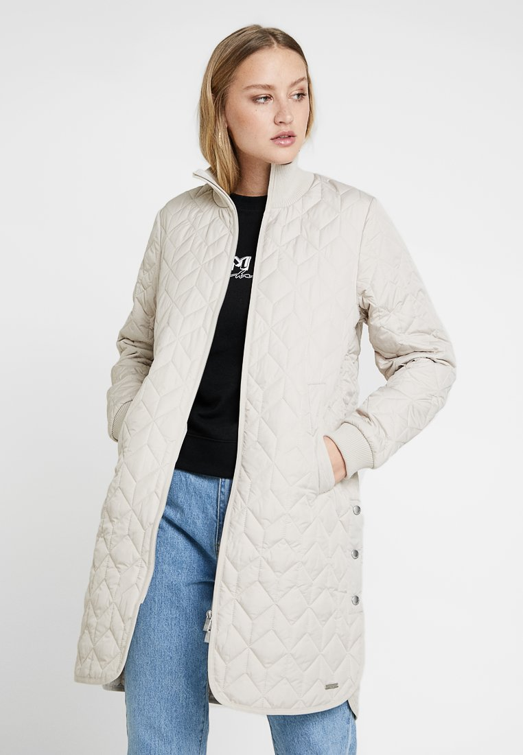 Ilse Jacobsen - PADDED QUILT - Classic coat - chateau gray