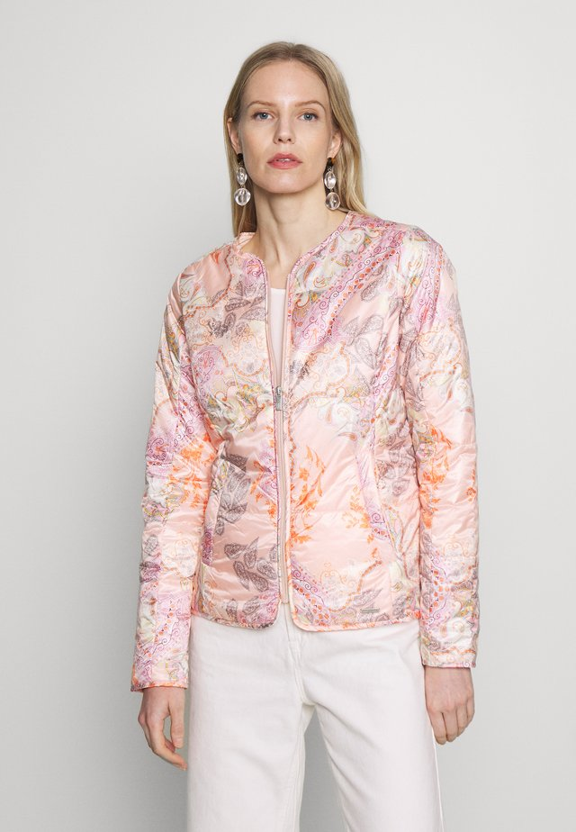 AIRLEY - Summer jacket - coral blush