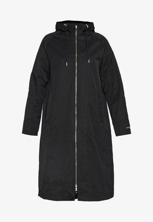 SPRAY - Trenchcoat - black