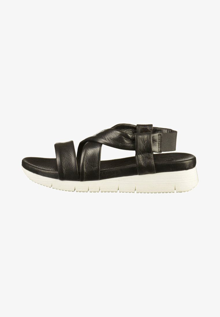 ILC - Sandały na platformie - black