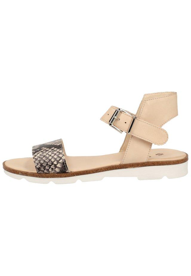ILC SANDALEN - Sandals - beige snake 20.06r