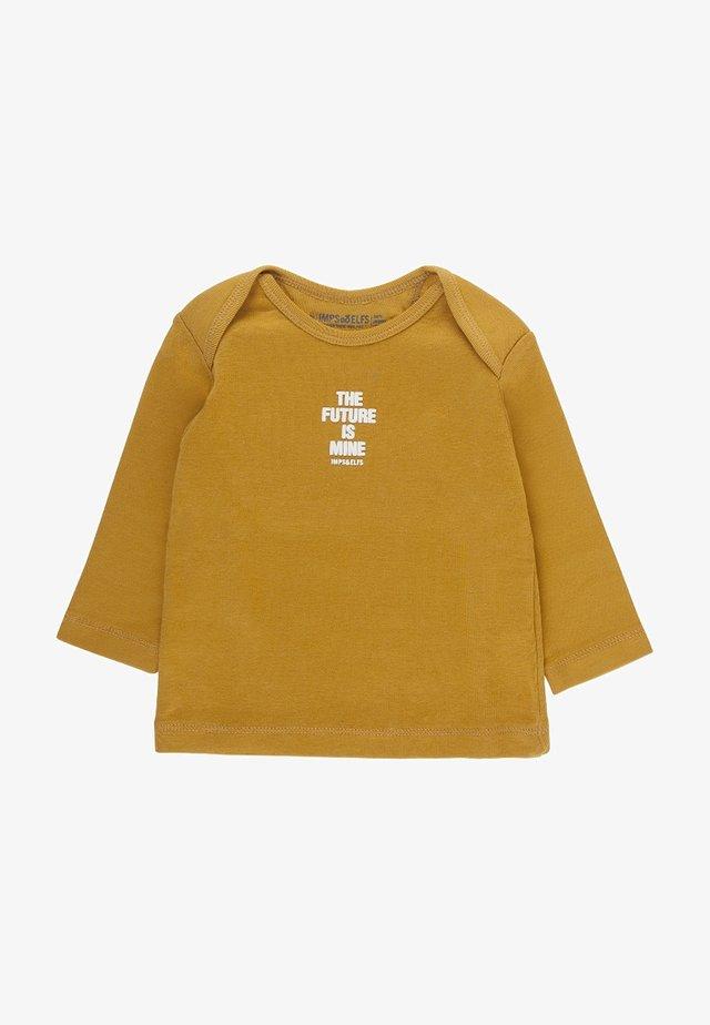 ROBIN - Long sleeved top - warm yellow