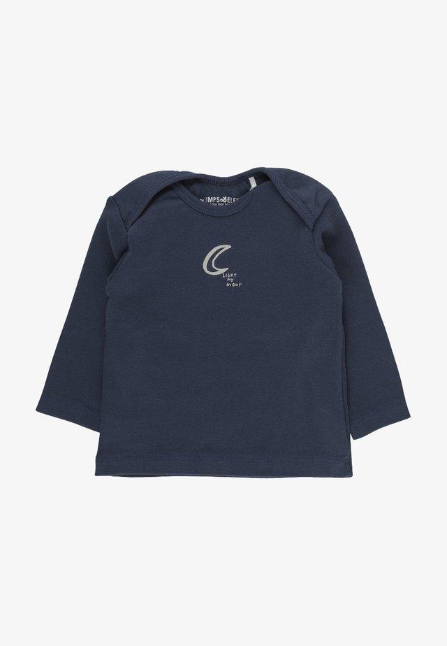 ROBIN - Long sleeved top - steel blue