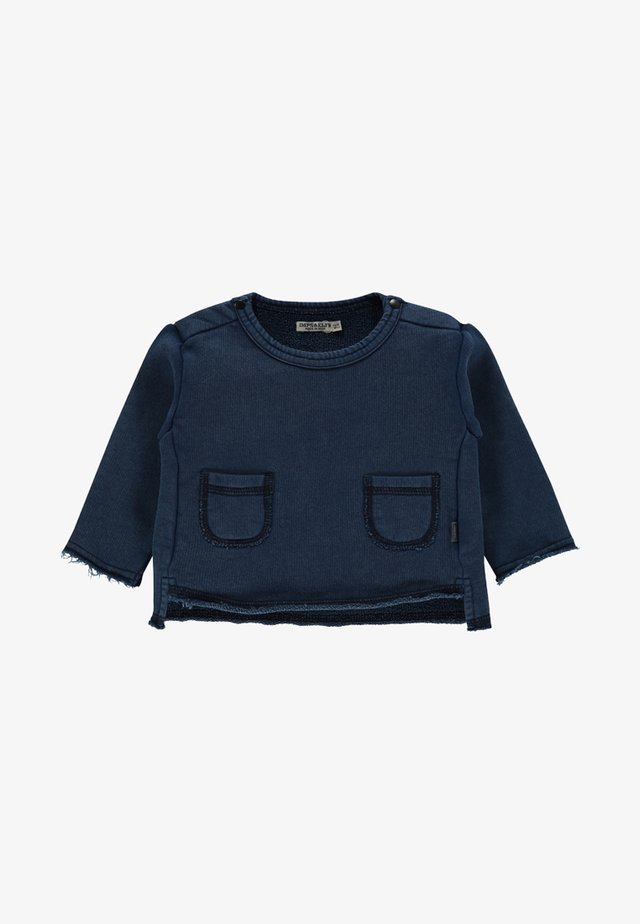 ARDGLASS - Trui - indigo blue dyed