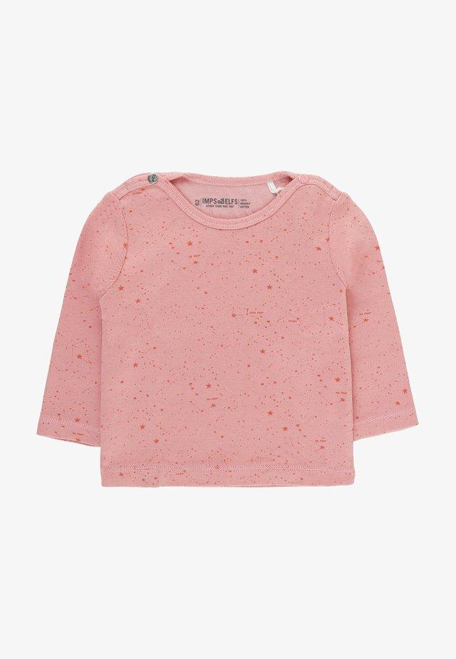 JIP2 - Long sleeved top - doll pink / dark doll pink