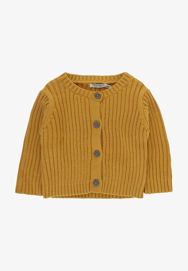 LUCA - Cardigan - warm yellow