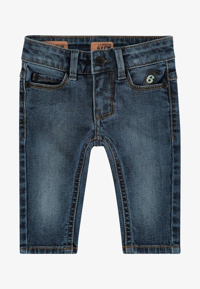 Straight leg jeans - stone used blue