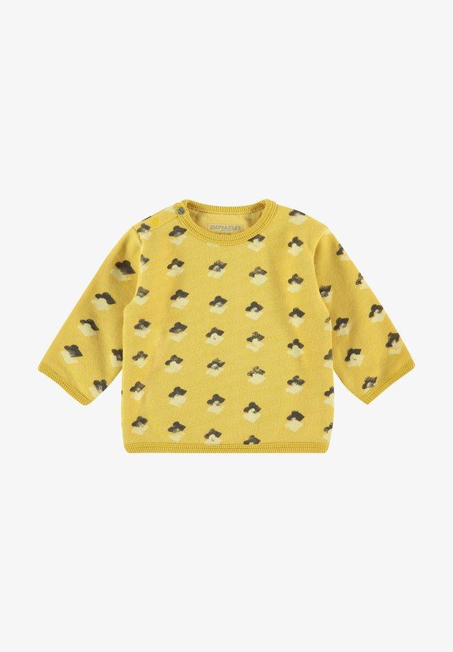 Sweater - cream gold