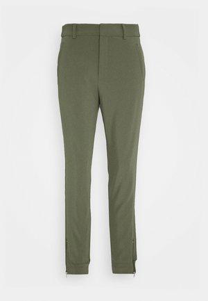 NICA PANTS - Trousers - beetle green