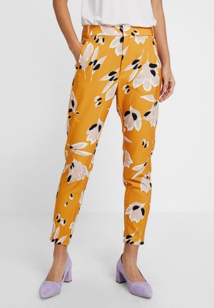 Trousers - sunny yellow medium