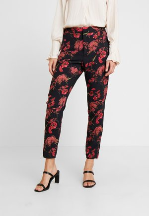 NICA PRINTED PANT - Pantalon classique - pink petunia